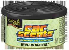 Osvěžovač vzduchu California Scents, vůně Car Scents - Havajské zahrady