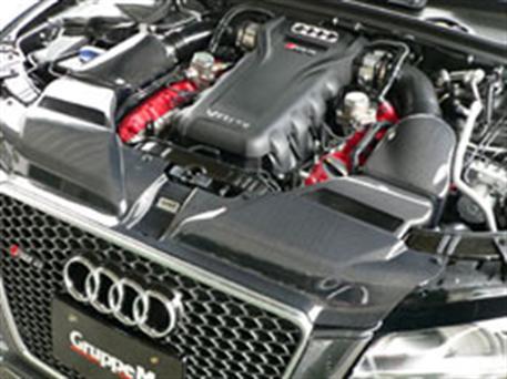 GruppeM carbonové sání pro Audi RS5 8T (B8) 4.2 V8 (r.v. 13-) Facelift