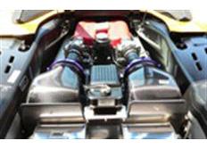 GruppeM carbonové sání pro Ferrari 360 3.6 ALL