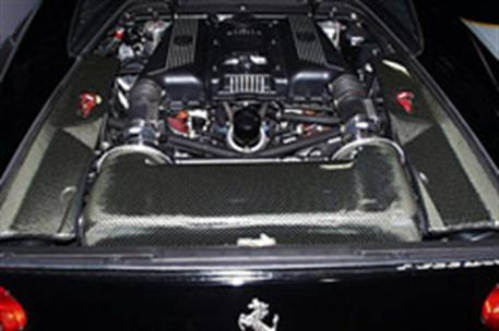 GruppeM carbonové sání pro Ferrari F355 3.5 (M2.7) (r.v. 94-96)