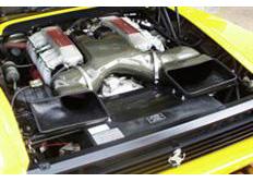 GruppeM carbonové sání pro Ferrari Testarossa 5.0 V12 390ps