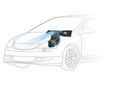 GruppeM carbonové sání pro Honda Civic EP3