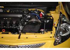 GruppeM carbonové sání pro Honda Fit GD2 4WD