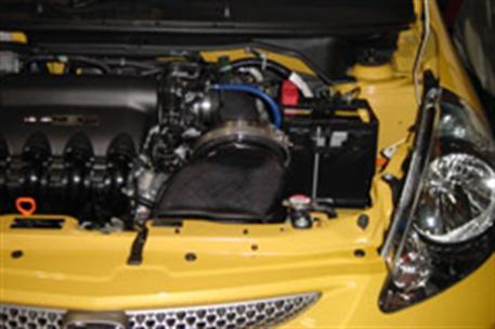 GruppeM carbonové sání pro Honda Fit GD3