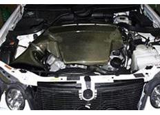GruppeM carbonové sání pro Mercedes-Benz E-Class 210 AMG 5.5