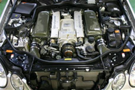 GruppeM carbonové sání pro Mercedes-Benz E-Class 211 AMG Kompressor 5.5