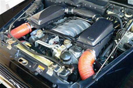 GruppeM carbonové sání pro Mercedes-Benz G-Class 463 AMG 5.5