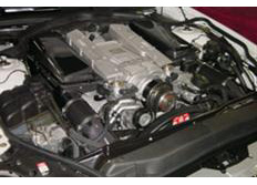 GruppeM carbonové sání pro Mercedes-Benz SL-Class 230 AMG Kompressor 5.5