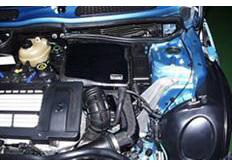 GruppeM karbonové sání pro Mini R50/R52/R53 Cooper S M/T 1.6 S/C (r.v. 01-07)