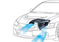 GruppeM carbonové sání pro Mitsubishi Lancer EVO8 4WD Turbo