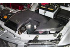 GruppeM carbonové sání pro Mitsubishi Lancer EVO8 MR 4WD Turbo