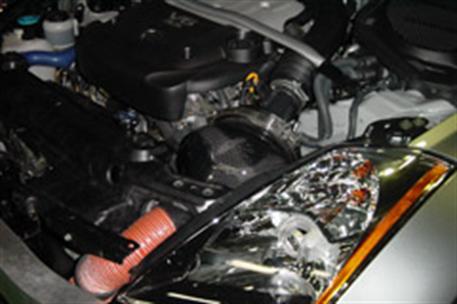 GruppeM carbonové sání pro Nissan Fairlady Z (Z33)