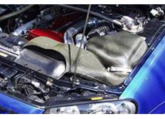 GruppeM carbonové sání pro Nissan Skyline BNR34 4WD Turbo