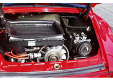 GruppeM karbonové sání pro Porsche 911 (930) 3.3 Turbo