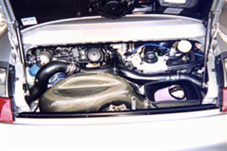 GruppeM carbonové sání pro Porsche 911 (996) 3.6 GT2