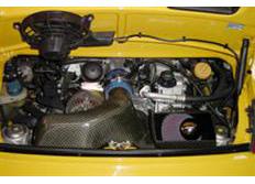 GruppeM karbonové sání pro Porsche 911 (996) 3.6 GT3 (r.v. 99-01)