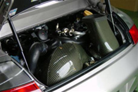 GruppeM carbonové sání pro Porsche 911 (996) 3.6 Turbo