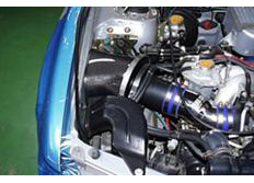 GruppeM carbonové sání pro Subaru Forester SF Turbo