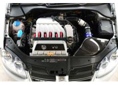 GruppeM karbonové sání pro Volkswagen Golf 5 3.2 R32 V6 (r.v. 06-09)