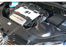 GruppeM carbonové sání pro Volkswagen Golf Touran 1.4 TSI (140ps/170ps) (r.v. 09-)