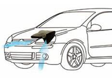 GruppeM carbonové sání pro Volkswagen Jetta 2.0 Turbo (r.v.06-11)