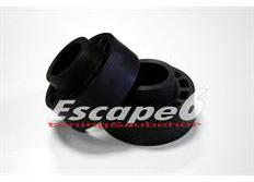 Podložky pro zvýšení vozu ST Suspensions pro Volkswagen Fox (5Z) r.v. od 04/05 zadní náprava +20 mm