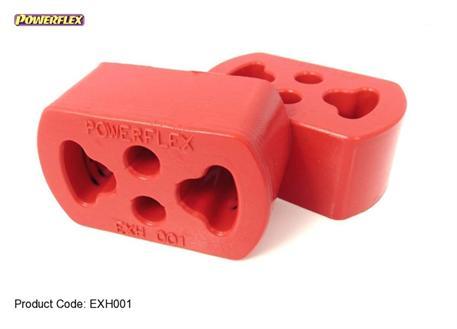 Silentbloky Powerflex Ford Escort Mk5/6 RS2000 4x4 (92-96) - silentblok na držák výfuku