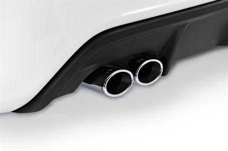 Dvojitý koncový tlumič výfuku Lorinser pro vůz Mercedes-Benz třídy A