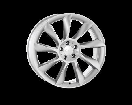 ALU kolo Lorinser RS8 8,5x19 stříbrné