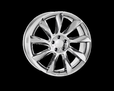 ALU kolo Lorinser RS8 8,5x19 chromové