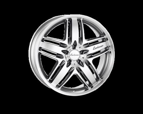 ALU kolo Lorinser RS9 8x18 ET 52mm stříbrné