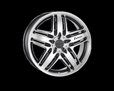 ALU kolo Lorinser RS9 8x18 ET 45mm černé
