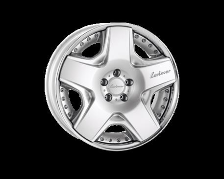 ALU kolo Lorinser RSK6 8,5x19 stříbrné leštěné