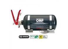 OMP hasicí systém s man. spouštěčem a ocelovou nádobou, 2,8 litru BLACK COLLECTION