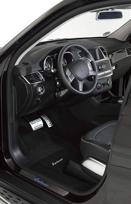 Sada interiérových koberců Lorinser pro MB třídy GL X166