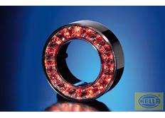 Hella Vnější kroužek LED červený