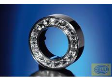 Hella Vnější kroužek LED chrom