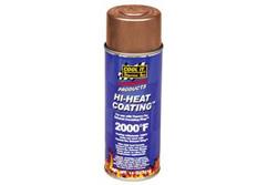 Thermotec - Sprej na termo izolační omotávky výfuků (Hi-heat coating spray) - měděný 330ml