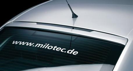 Milotec patka na zadní okno Škoda Octavia II
