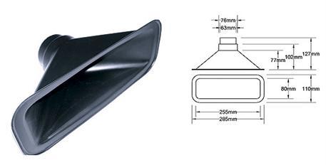 Nasávání pro hadici o průměru 63mm, typ A