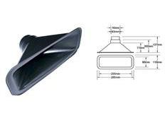 Nasávání pro hadici o průměru 63 mm nebo 76 mm, typ A