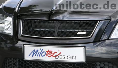 Milotec maska s černou mřížkou Škoda Octavia II Facelift