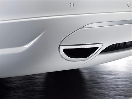 Koncový tlumič výfuku Lorinser pro vůz MB třídy C typ C230, C280, C350, C200T, C280T, C350T