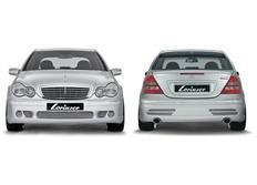 Sada spoilerů Lorinser pro vůz MB třídy C W203 Elegance a Classic