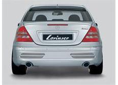 Zadní spoiler Lorinser pro vůz MB třídy C W203 Avantgarde, Elegance i Classic