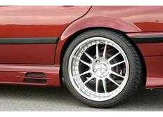 RIEGER boční práh levý se dvěma prolisy pro BMW řady 3 model E36