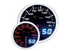 Přídavný ukazatel teploty oleje Depo Racing Dual View
