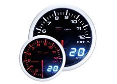 Přídavný ukazatel teploty výfukových plynů EGT Depo Racing Dual View