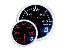 Přídavný ukazatel tlaku paliva Depo Racing Dual View