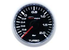 Přídavný ukazatel tlaku turba - elektronický Depo Racing CSM